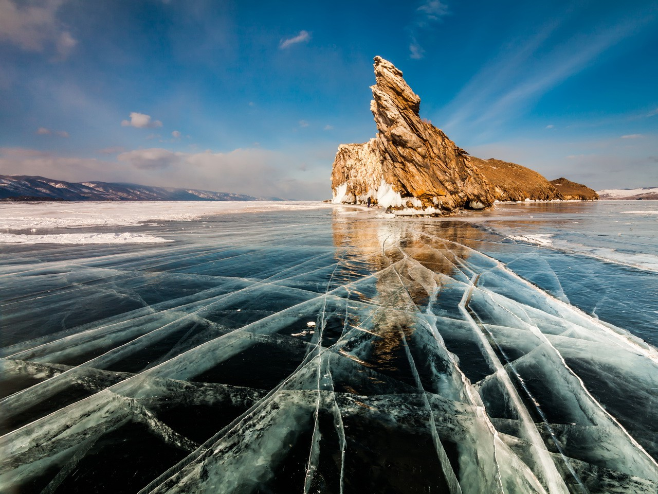 The source of our product, Siberian miracle - Baikal Lake